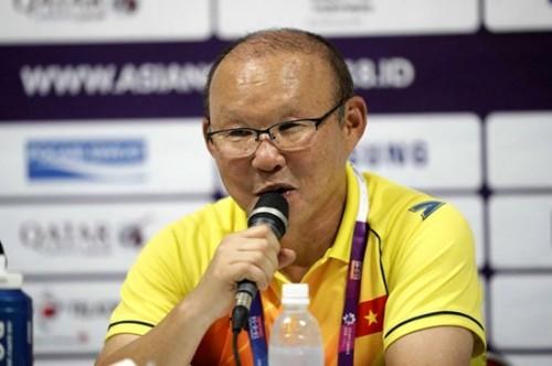 Olympic Việt Nam đoạt vé vào vòng 1/8 ASIAD sau chiến thắng trước Nepal, HLV Park Hang Seo nói gì?