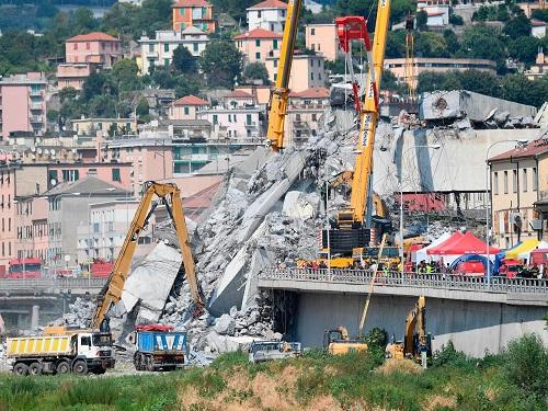 Sau vụ sập cầu ở Ý, hơn 800 cây cầu ở Pháp cũng có nguy cơ sụp đổ