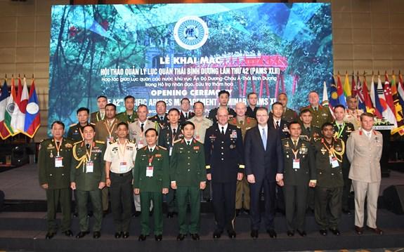 Việt Nam lần đầu đăng cai Hội thảo quản lý lục quân Thái Bình Dương