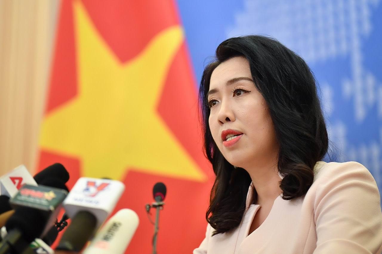 Phản đối tàu Hải Dương 8 của Trung Quốc trở lại hoạt động xâm phạm vùng đặc quyền kinh tế và thềm lục địa của Việt Nam