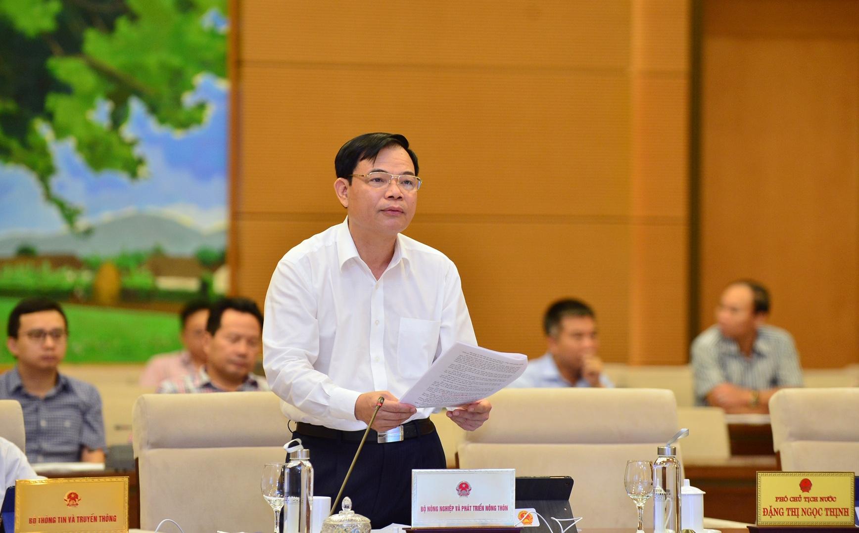uy ban thuong vu quoc hoi thao luan ve luat de dieu va luat phong chong thien tai sua doi