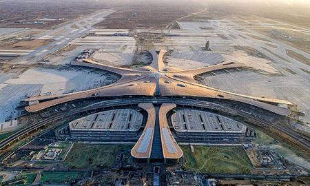 Trung Quốc mở cửa sân bay lớn nhất thế giới