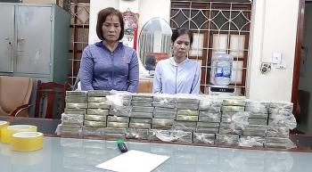 nu quai 8x cam dau duong day van chuyen 80 banh heroin lien tinh