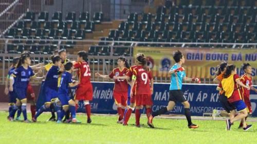 4 cầu thủ nữ  CLB TP.HCM 1 bị đình chỉ thi đấu vì ẩu đả tại sân Thống Nhất