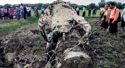 2 tiêm kích F-7 của quân đội Myanmar bị rơi liên tiếp trong khi bay huấn luyện