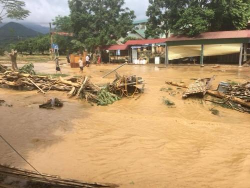 Lào Cai: Lũ dội về bất ngờ tổng thiệt hại ước tính lên tới 6,5 tỷ đồng