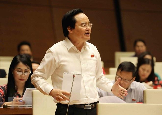 Bộ trưởng Phùng Xuân Nhạ giải trình về một số vấn đề 'nóng'