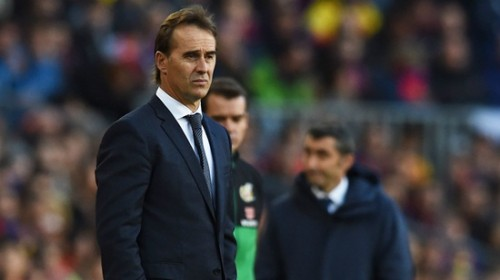 Sau thất bại thảm hại trước Barca, Real chính thức sa thải HLV Lopetegui
