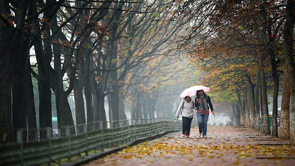 Nhiệt độ mùa Đông 2019 ở Bắc Bộ cao hơn so với trung bình nhiều năm từ 0,5-1 độ C