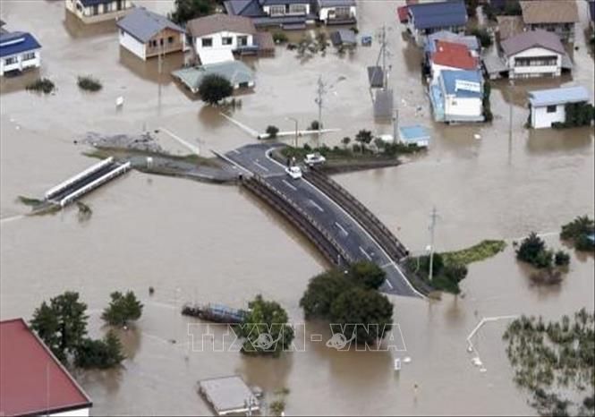 Siêu bão Hagibis gây thiệt hại lớn ở Nhật Bản