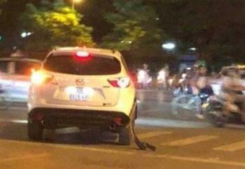 xac dinh danh tinh chu xe mazda cx5 trong vu tai xe taxi bi ban thung bung chen xe qua nguoi sau va cham