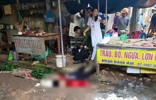 Hải Dương: Công an thông tin chính thức vụ cô gái bán đậu bị bắn tử vong giữa chợ
