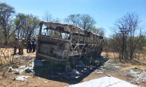 Zimbabwe: Ít nhất 42 người chết trong vụ nổ xe buýt