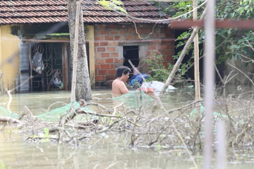 Quảng Nam: 1 dân quân tử vong sau khi cứu dân vùng lũ