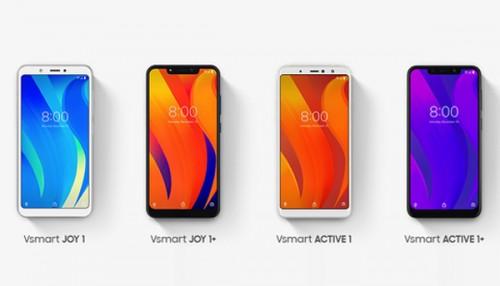 Vsmart chính thức ra mắt 4 smartphone giá từ 2,5 triệu đồng, cấu hình cực khủng