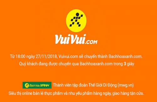 the gioi di dong dung hoat dong du an thuong mai dien tu vuivuicom sau gan 2 nam hoat dong