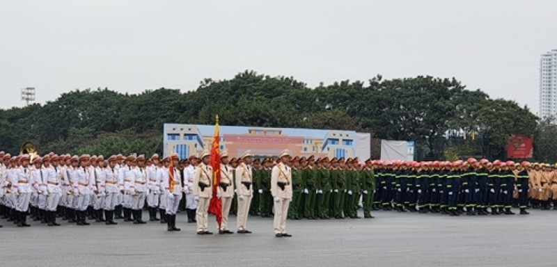 Công an TP Hà Nội huy động 100% quân số ứng trực 24/24 giờ để đảm bảo an toàn Đại hội đại biểu toàn quốc lần thứ XIIIcủa Đảng