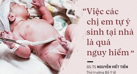'Sinh con thuận tự nhiên' thai phụ ở TP HCM suýt mất mạng