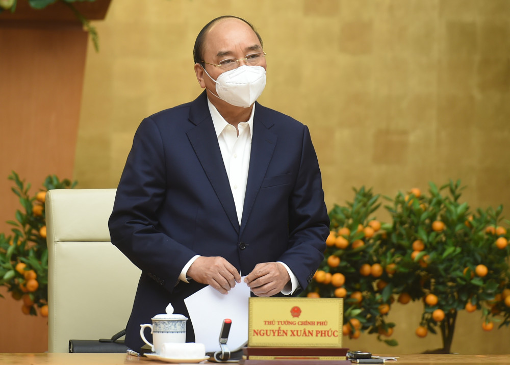 Thủ tướng Nguyễn Xuân Phúc: Được áp dụng biện pháp mạnh để ngăn chặn dịch bệnh