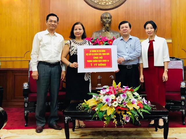 Nữ Việt kiều ở Trung Quốc ủng hộ Việt Nam 1 tỷ đồng chống COVID-19