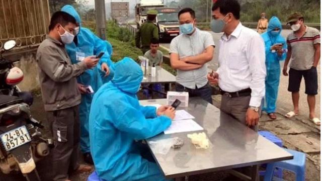 Lào Cai cách ly, theo dõi y tế 14 ngày đối với người về từ vùng dịch Hà Nội