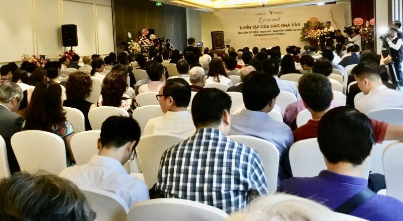 Ra mắt tuyển tập sách của 3 thế hệ gia đình nhà văn Nguyễn Như Phong