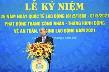 chu tich nuoc du le ky niem 135 nam ngay quoc te lao dong phat dong thang cong nhan va an toan ve sinh lao dong 2021