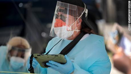 Đại dịch Covid-19 đang lan nhanh chóng tại nhiều khu vực của Mỹ