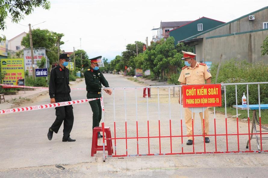 Nghệ An: Giãn cách xã hội theo Chỉ thị 15 toàn huyện Diễn Châu, trong đó có 5 xã giãn cách theo Chỉ thị 16
