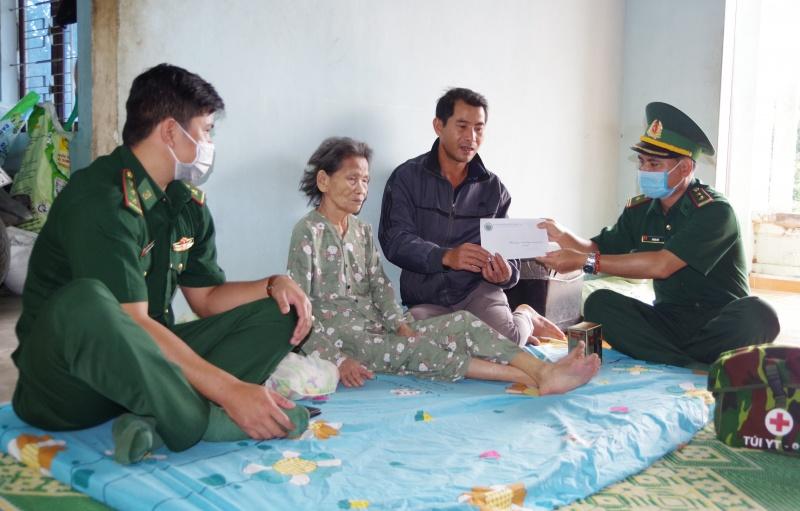 Bộ đội Biên phòng tỉnh Kon Tum triển khai nhiều hoạt động đền ơn đáp nghĩa