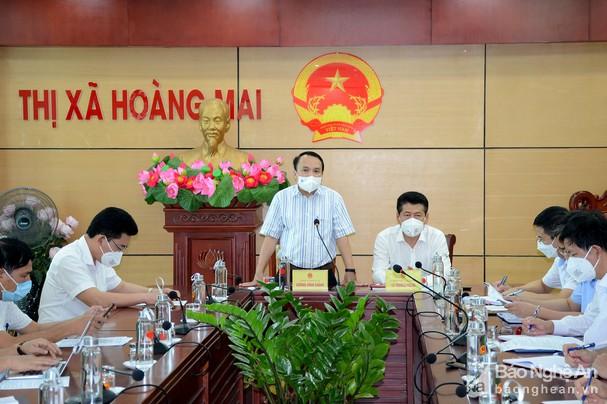 Nghệ An: phong tỏa toàn bộ xã Quỳnh Liên, thị xã Hoàng Mai do có 4 ca nhiễm Covid-19