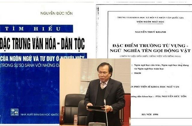 """Nghi vấn GS Nguyễn Đức Tồn """"đạo văn"""": Gần 2 thập kỷ chưa hồi kết!"""