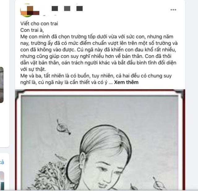 Cảm động bức thư người mẹ viết cho cho con vừa thi trượt lớp vào 10