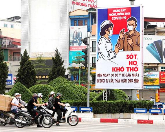 Hà Nội đề nghị không tập trung quá 30 người tại nơi công cộng, người dân không ra khỏi nhà khi không có việc cần thiết