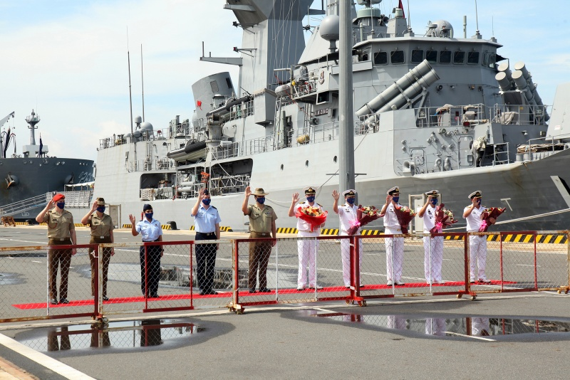 Nhóm Tác chiến Nỗ lực Ấn Độ Dương – Thái Bình Dương của Australia tới Việt Nam