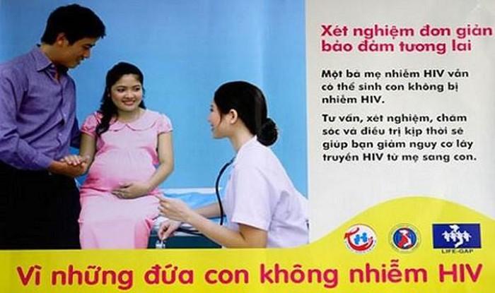 Nếu không dự phòng, cứ 100 bà mẹ nhiễm HIV mang thai sẽ có 35 trẻ sinh ra nhiễm bệnh