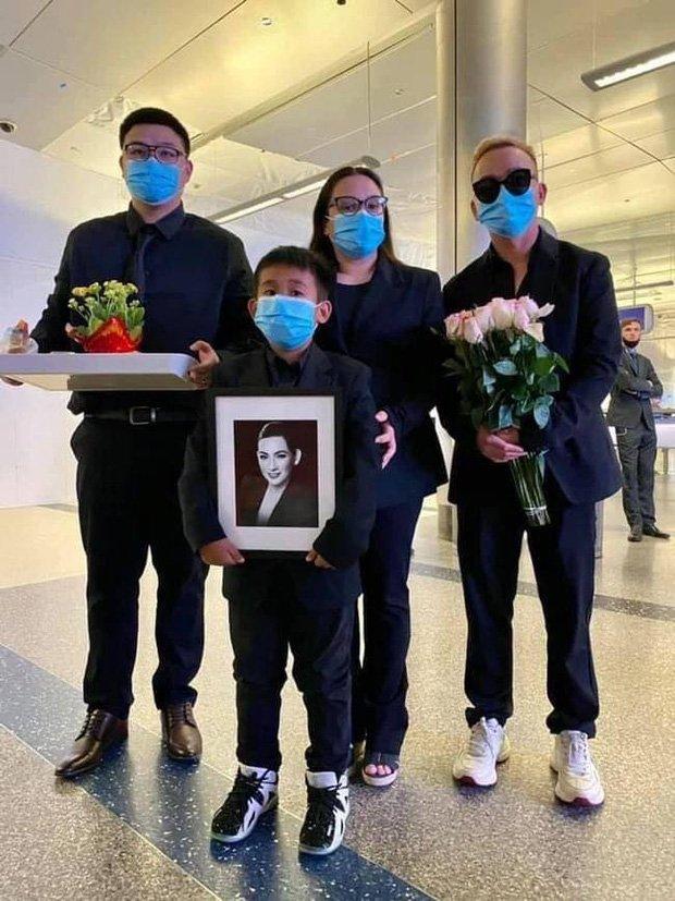 Bất ngờ con rể và cháu ngoại Ca sỹ Phi Nhung lộ diện tại đám tang ở Mỹ
