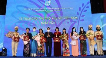 giai thuong phu nu viet nam nam 2021 vinh danh 6 tap the va 10 ca nhan tieu bieu trong cac linh vuc