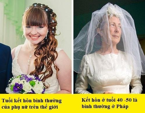 Những khác biệt của phụ nữ Pháp