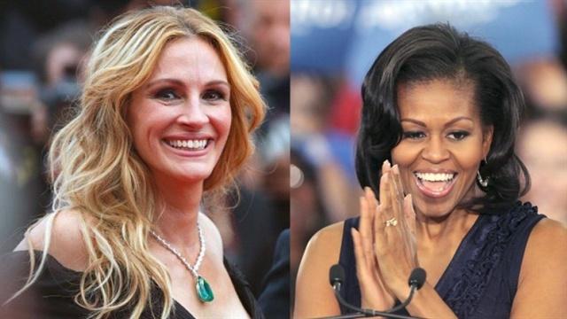 """Sứ mệnh mới của """"bộ đôi quyền lực"""" Julia Roberts và Michelle Obama"""