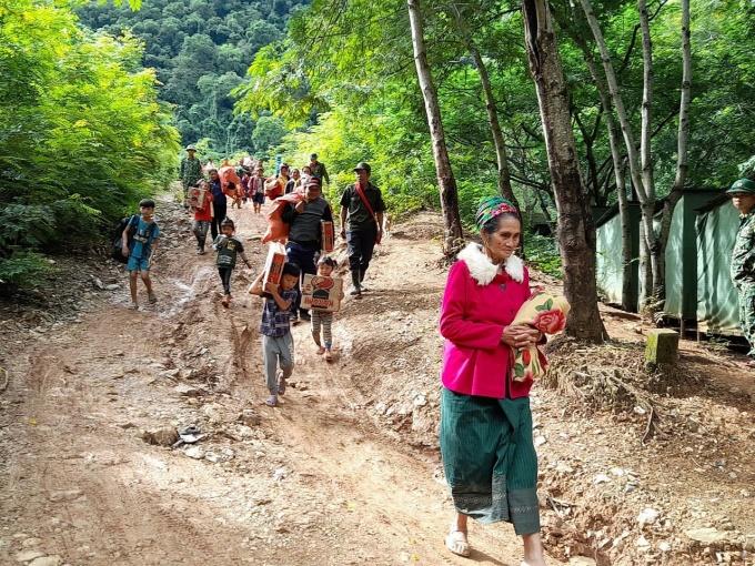 Nghệ An: Di dời hơn 1000 người từ nơi có nguy cơ sạt lở