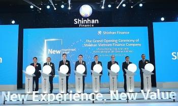 ra mat shinhan finance tai tphcm