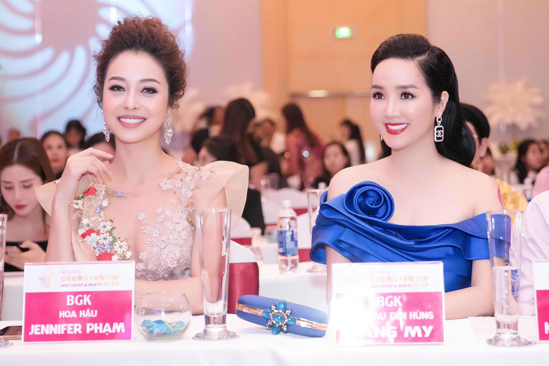 Jennifer Phạm - Giáng My: Cặp Đôi Giám Khảo Quyền Lực Của Nữ Hoàng Tài Năng Và Sắc Đẹp 2019