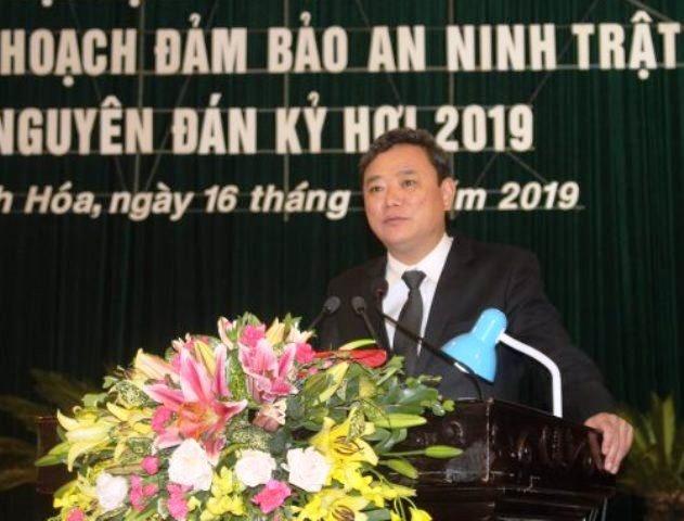 Ông Lê Anh Xuân giữ chức Bí thư Thành ủy thành phố Thanh Hóa