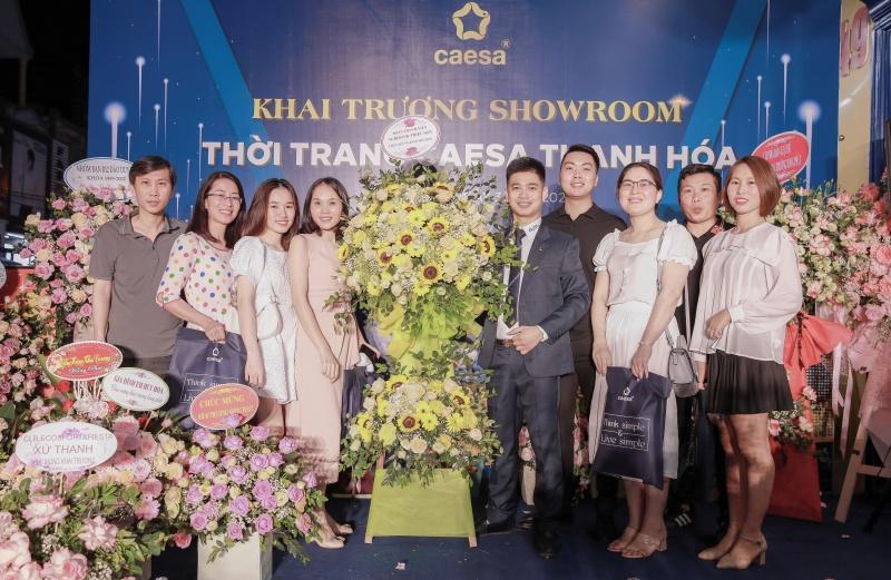 Cửa hàng thời trang cao cấp Caesa chính thức khai trương tại Thanh Hóa