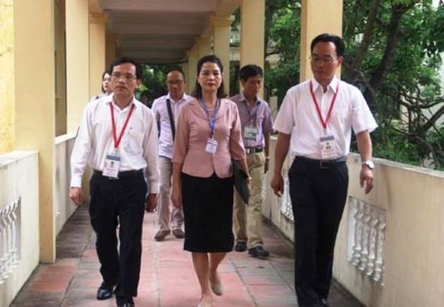 Cục trưởng Mai Văn Trinh: Đánh giá cao công tác tổ chức thi của tỉnh Thanh Hóa