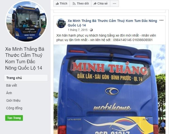 """Thanh Hóa: Lái xe nhà xe Minh Thắng thu tiền hộ khách rồi """"lặn mất tăm""""?"""