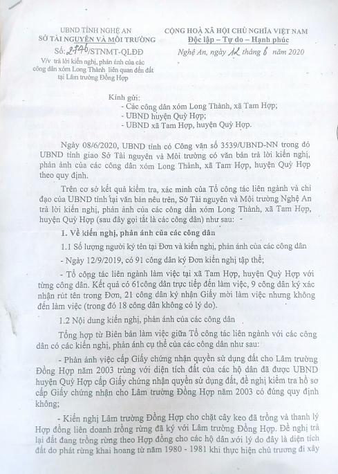 tranh chap dat dai tai lam truong dong hop nghe an vu viec van chua co hoi ket