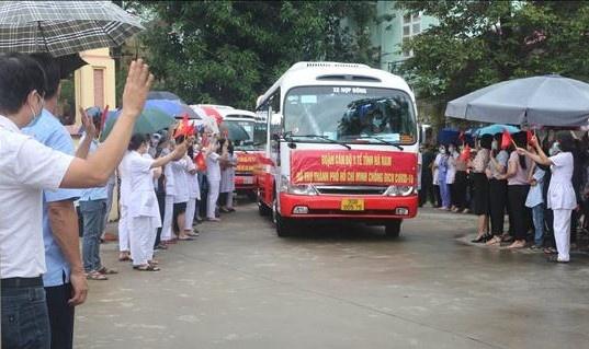 Hà Nam: Thêm 40 cán bộ, nhân viên y tế