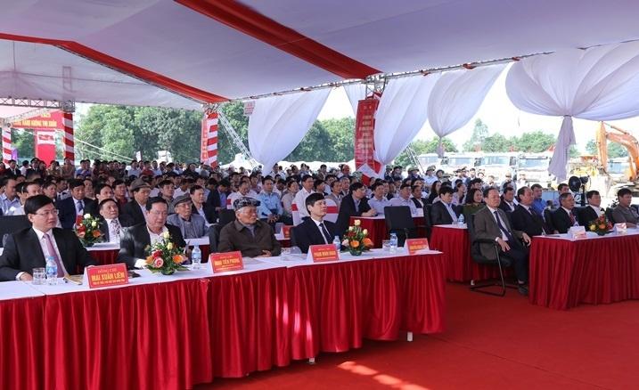 Thanh Hóa: Khởi công Dự án đường nối Thành phố Thanh Hóa với Cảng Hàng không Thọ Xuân